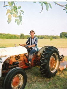 Sam, Master of the Tractor/Photo by Mark Wolfe